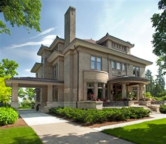 The historic donaldson mansion minneapolis minnesota for Minnesota mansions for sale