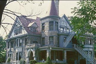 Romanesque ii cincinnati ohio historic homes for Large victorian homes for sale