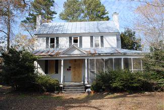 Tull-Worth-Holland House, Kinston, North Carolina - Historic